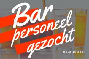 Barmedewerkers gezocht voor het nieuwe seizoen!