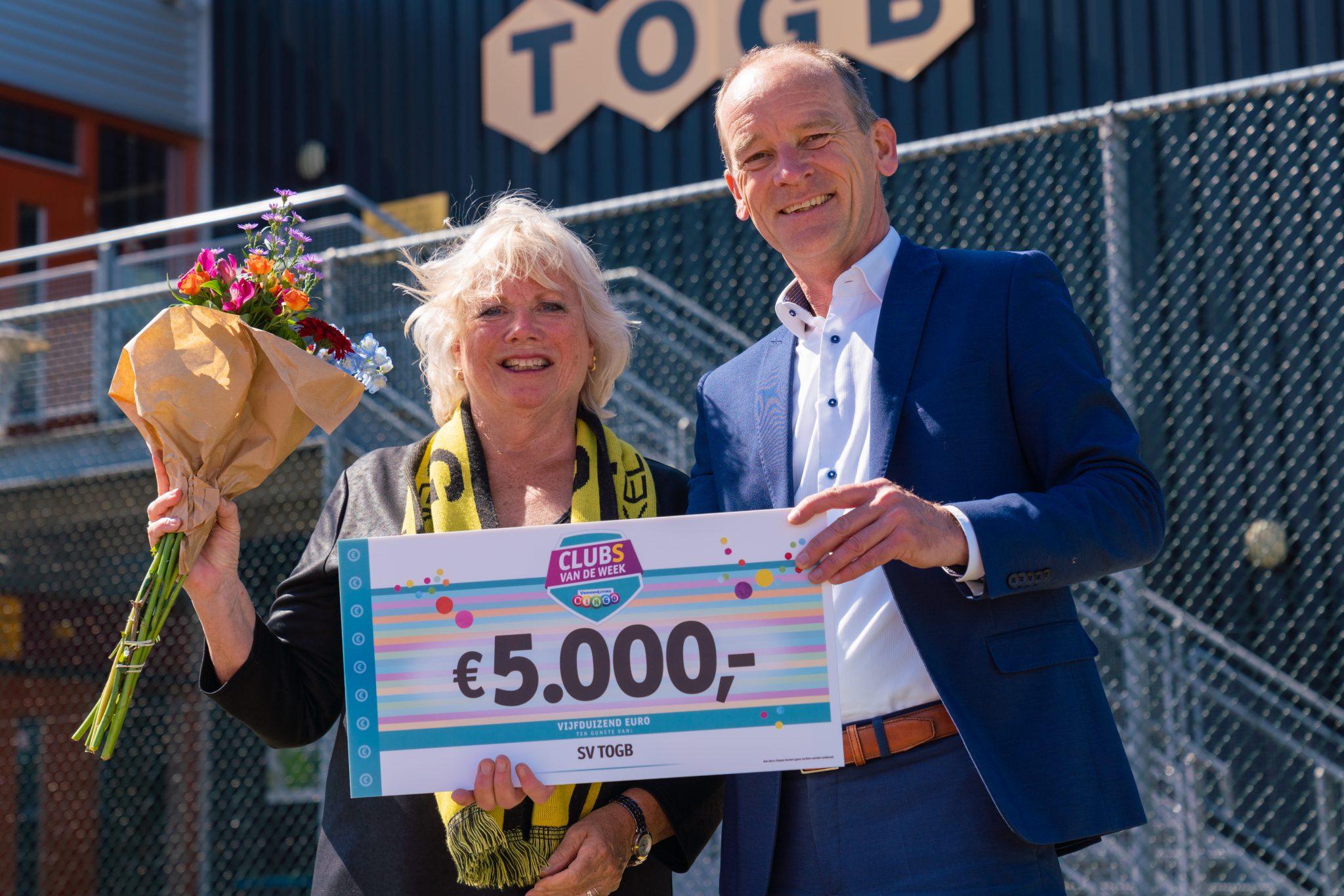 Vrienden Loterij steunt TOGB