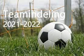 Teamindeling jeugdteams 2020-2021
